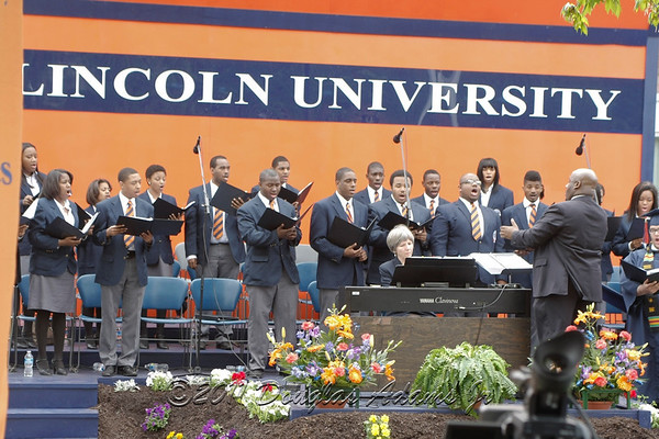 Lincoln University Commencement 2011