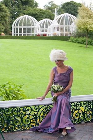 Linda at Birmingham Botanical Gardens