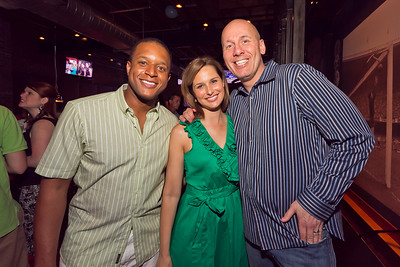 Craig Melvin, Allison Starling, Mike Wise
