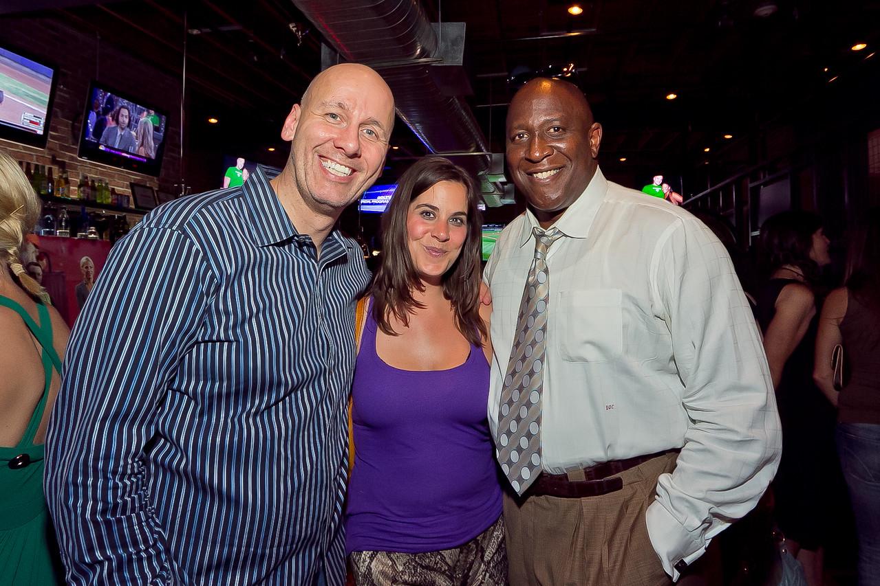 Mike Wise, Liz Drabick, Doc Walker