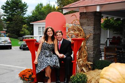 Photo from Lindsay and Matt's wedding reception in Vergennes VT