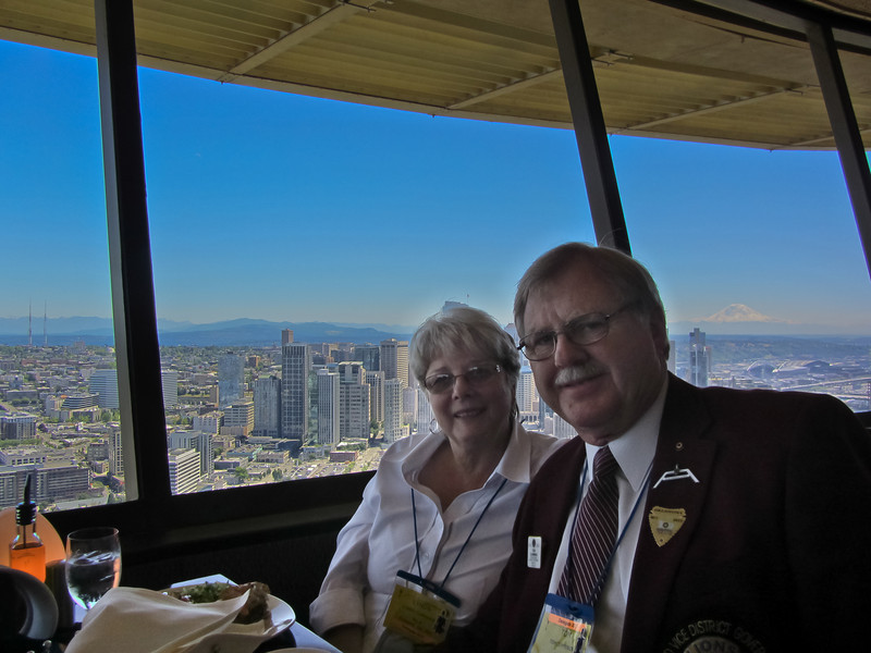 $60 lunch at the Space Needle........