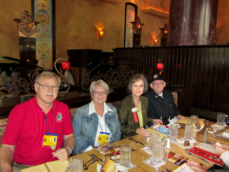 Most of the Oklahoma delegation at dinner on Thursday night