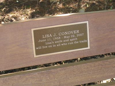 Lisa Conover's Bench Dedication