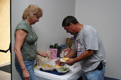 29 Tammy and David enjoying the birthday nachos