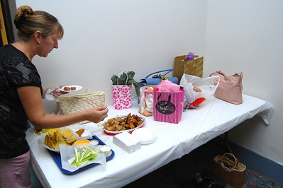 26 The Ormond Lanes supplied the food and the friends supplied the presents