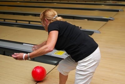 14 And Donna's ball goes straight              DOWN