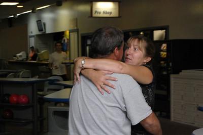 25 David and Kandi are trying the Hug equals Strike method