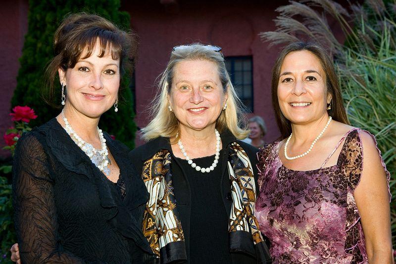 Christina Armond, First Lady Barbara Richardson, LVSF Director Leddy Naranjo