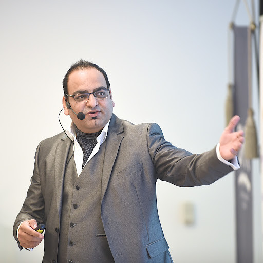 The Air Of A  Man All Confident--Dr  Prem  At Lithuania Conference