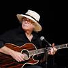 John P. Cleary | The Herald Bulletin<br /> Dan Daugherty plays the guitar at the Little Bit Country Jamboree.