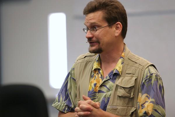 Lucas Miller at the Cedar Park Library - July 17, 2008