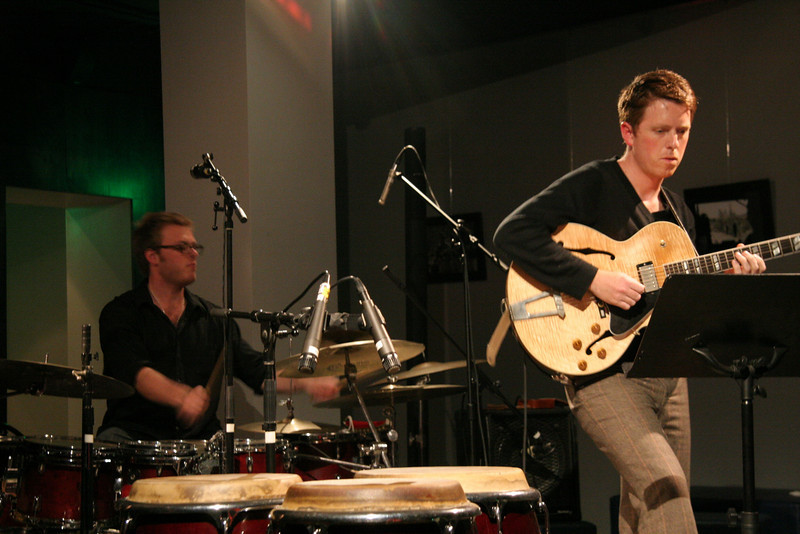 Zach Harmon, Drums<br /> Perry Smith, Guitar<br /> Zach Harmon All Stars - April 23, 2010 Blue Whale Los Angeles