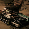 Perry Smith's pedal board<br /> Zach Harmon All Stars - April 23, 2010 Blue Whale Los Angeles