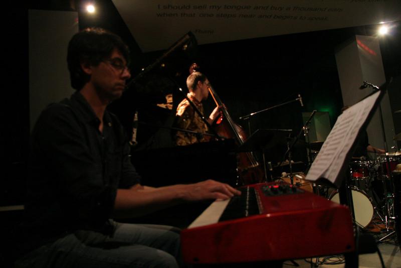 Josh Nelson, Keyboard<br /> Hamilton Price, Bass<br /> Zach Harmon All Stars - April 23, 2010 Blue Whale Los Angeles