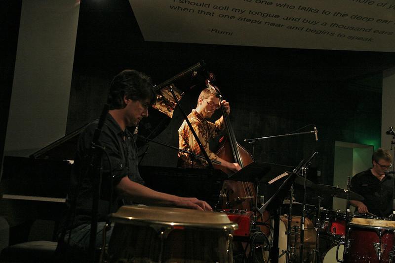 Josh Nelson, Piano & Hamilton Price, Bass<br /> Zach Harmon All Stars - April 23, 2010 Blue Whale Los Angeles