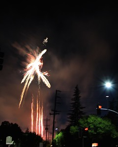 Livermore Fireworks July 4th, 2015