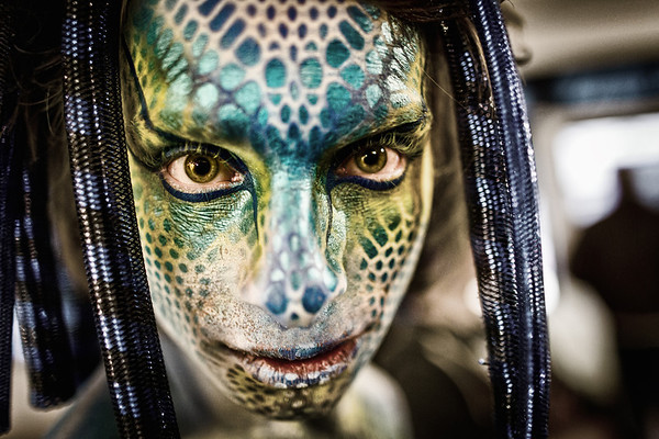 Living Canvases Body Art Show 2012