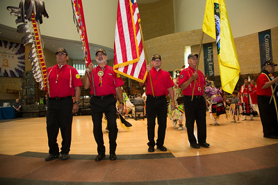Pokagon Band of Potawatomi Indians Color Guard