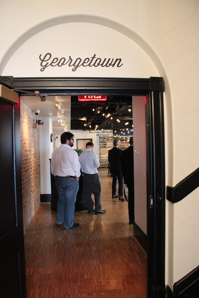 """One of the rooms, commonly used for hosting """"pop-up"""" restaurants, is called the """"Georgetown."""""""