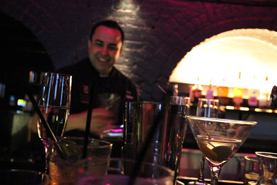 John Arroyo of Founding Farmers hosts the Mixology class.