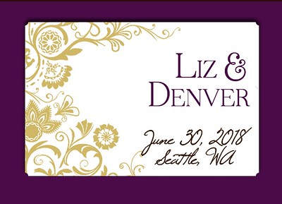 Liz & Denver Wedding