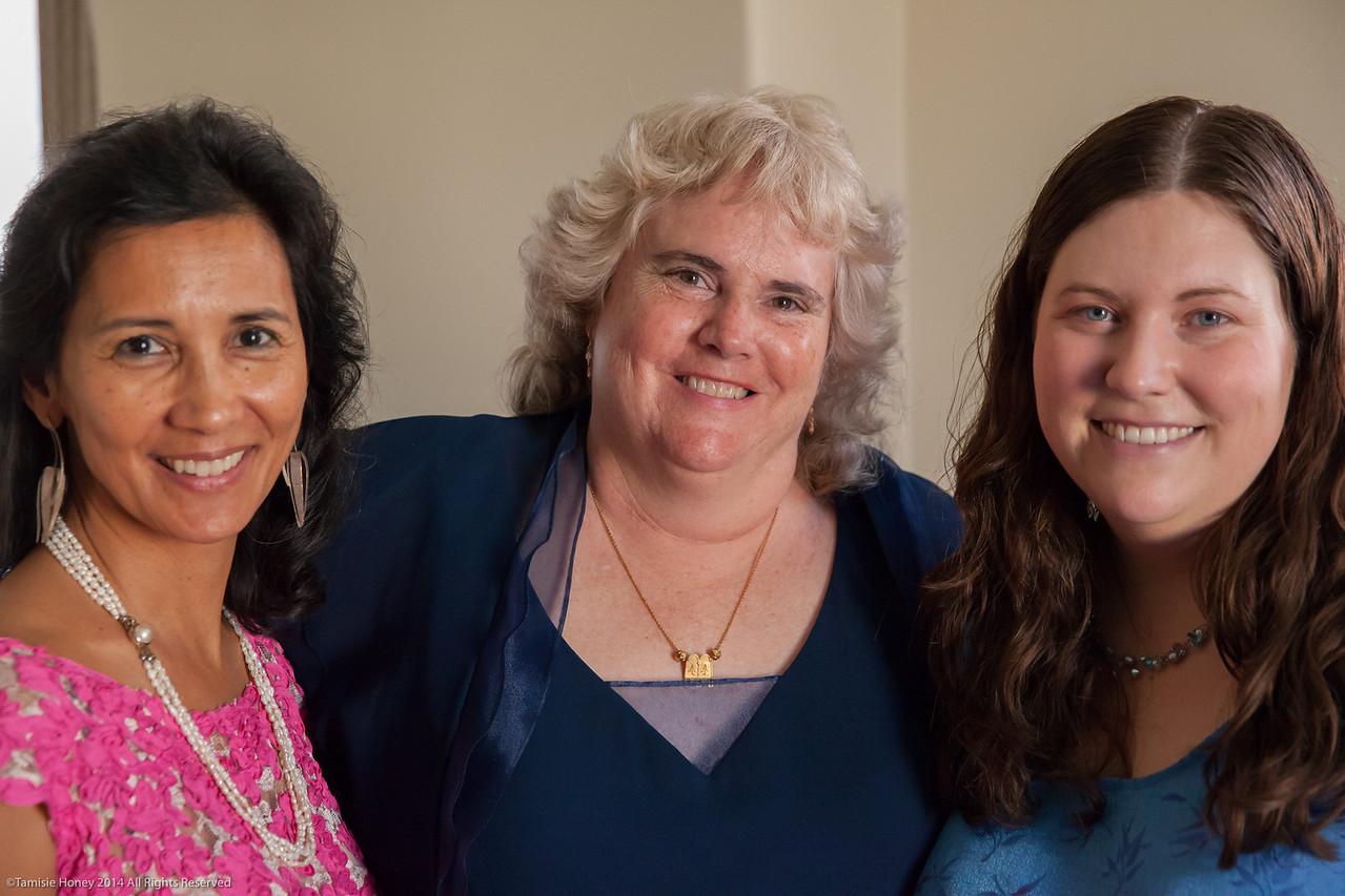 Cynthia Keely, Ruth Bonaparte Mohanram, Liz Vrolyk