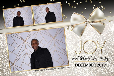 Local 843 Holiday Party 2017
