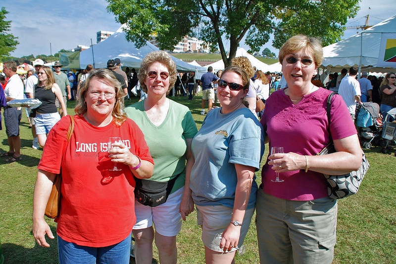 From left, Susan Armstrong, Carla Brobst, Stacy xx, and Jean Finkleman.