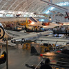 The Enola Gay and other aircraft at the Udvar-Hazy Air and Space Center.