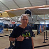 Raymond Finkleman at the SolarImpulse plane.