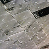 The Shuttle Discovery heat shield tiles.
