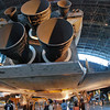 The Shuttle Discovery engines.