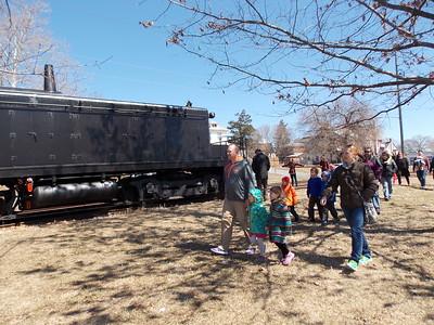 Kutztown Easter Bunny Train