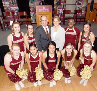 Kutztown University welcomes 12th President Dr. Kenneth Hawkinson. Photos by Lisa Mitchell, Berks-Mont Newspapers
