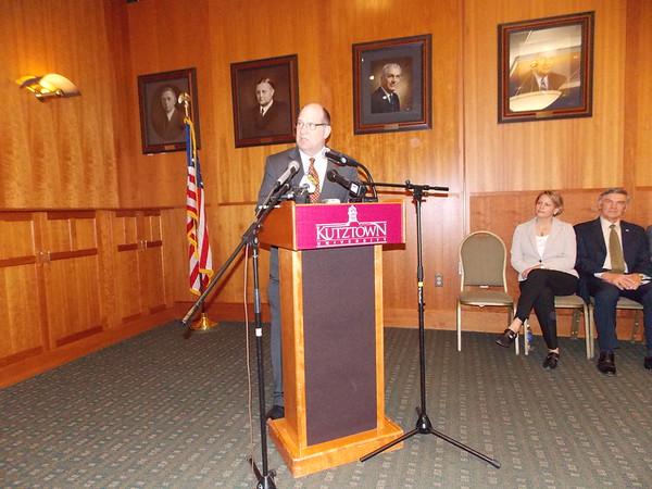 Kutztown University's 12th President Welcomed