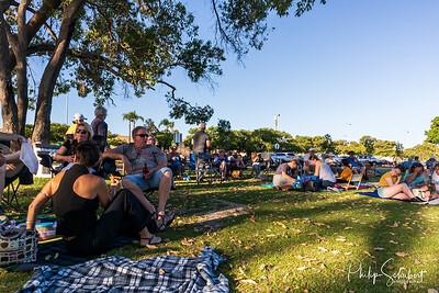Noranda, Western Australia - Jan 12, 2020: The Noranda Vibes Volunteer Community Group present a free concert  known as the Summer Series at the Noranda Nook.