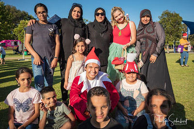 Noranda, WA, Australia - Nov 23 2019: The 2019 Noranda Vibes Christmas Concert was held in the Robert Thompson Reserve, and feartured the FESA Band and the Choir from Noranda Primary School.