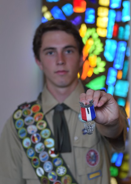 Logan Spell Eagle Scout Court of Honor - 2017-06-04