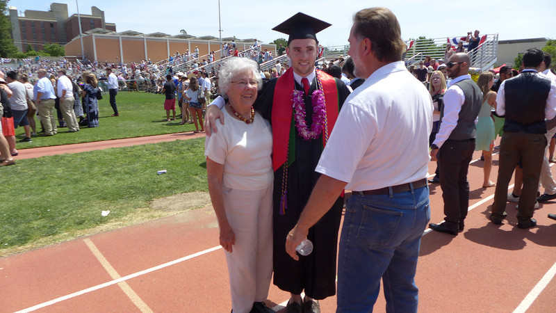 Logan's Graduation, Chico, California, 2014.