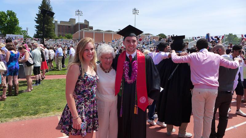 Logan's Graduation, Chico, California, 2014.