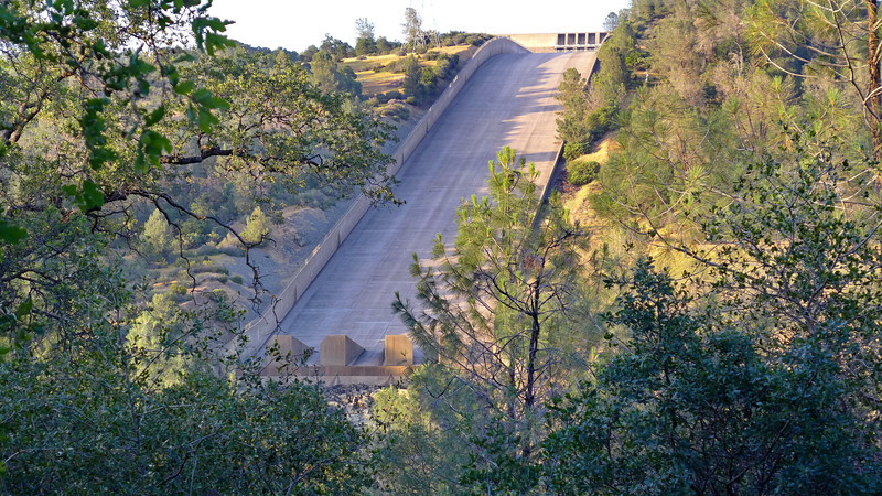 Spillway at Oroville Dam