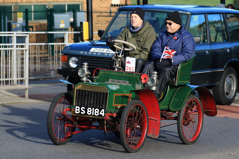 1904 Humberette London to Brighton Veteran Car Run 213