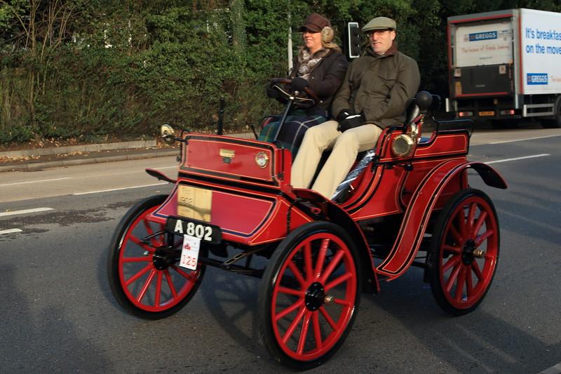 1902 Albion Dogcart London to Brighton Veteran Car Run 2013