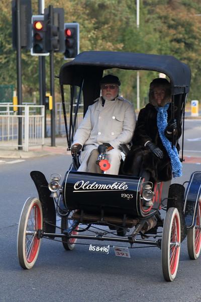 1903 Oldsmobile London to Brighton Veteran Car Run 2013