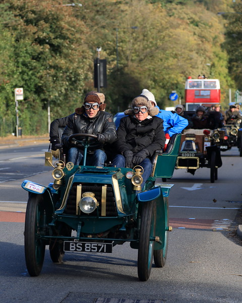 1903 Penhard et Levassor London to Brighton Veteran Car Run 2013