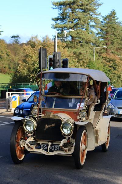 1904 Mercedes Tourer London to Brighton Veteran Car Run 2013
