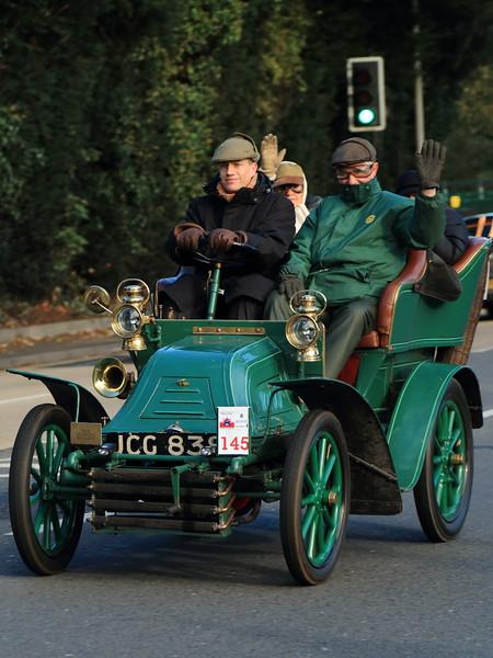 1902 Georges Richard Tonneau London to Brighton Veteran Car Run 2013