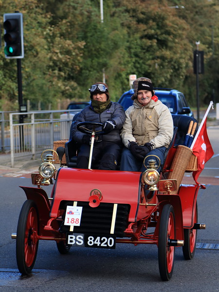 1903 Cadillac Tonneau London to Brighton Veteran Car Run 2013