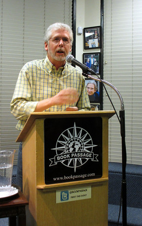 Lone Morch speaks at Book Passage